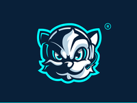 StoubeM Squirrel Mascot Illustration graphiste laureaux didier gaming esport illustration logo mascot logo mascot