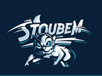StoubeM Squirrel Mascot Illustration gaming esport illustration mascot graphiste logo laureaux didier