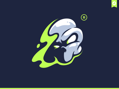 Second Death Skull mascot bretagne graphiste logo laureaux didier branding two 2 second skull illustration mascot logo mascot