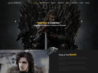 Game of thrones   free html css responsive template