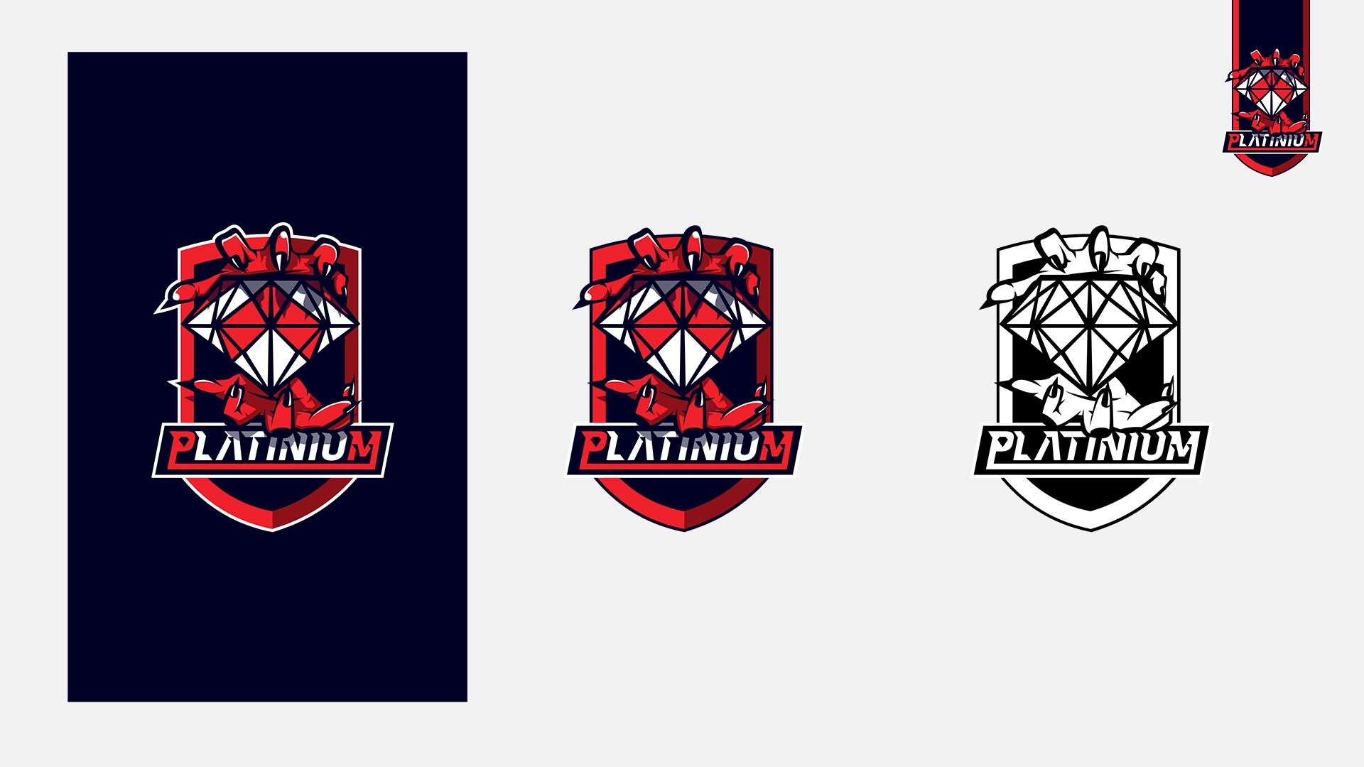 Logo platinium esport