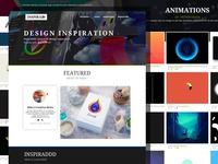 Inspiraddd - Webdesign