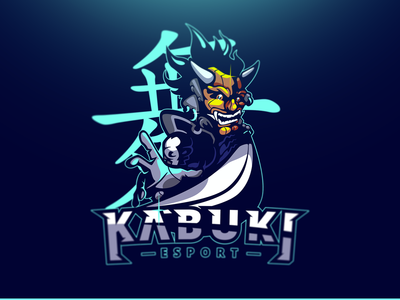Kabuki Esport /// Mascot Illustration