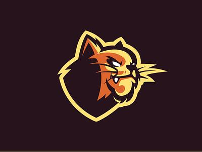 Panthar Mascot Logo design vector esport gaming mascot branding bretagne logo laureaux didier