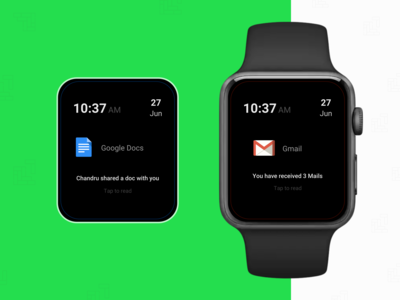 Apple Watch Notification for G Suite