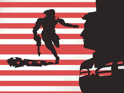 Captain Ameica2 digital art marvel captain america marvelcomics