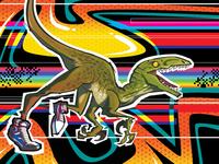 Velociraptors #1 - Option Cover