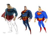 Superman - Character Art Design