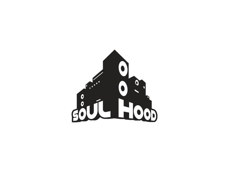Soul Hood Records logo mark brand identity graphic design logo