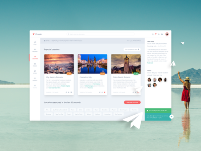 GTraveler   Concept for a Holiday Agency
