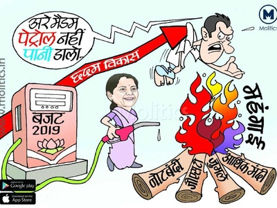 Union Budget 2019 Indian Political Cartoons