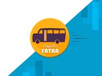 Hajurko Yatra Logo Sample