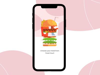 Restaurant Chatbot rating cart delivery design animation user experience app light clean ux ui foodmenu chatbot restaurant