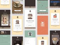 Coffee app - Puku Puku 01