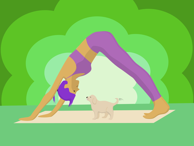Yoga & Puppies