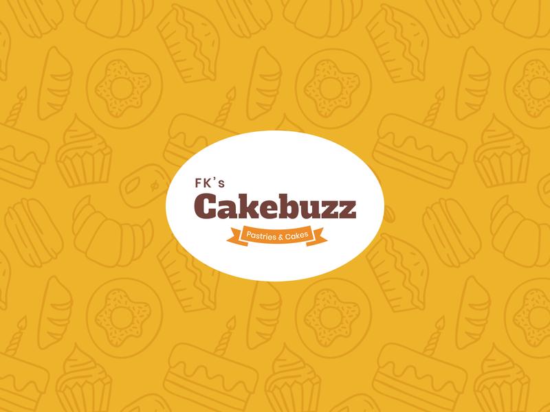 Cakebuzz - branding donuts cream basket pastries bakery bakery logo logodesign branding and identity cakeshop brand cakebuzz design logo branding design