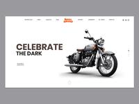 Royal Enfield - website redesign