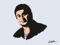 A r Rahman Portrait