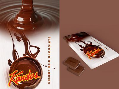 chocolate - Kandos dribbbleweeklywarmup