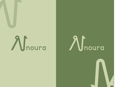 Noura logo branding graphic design design logo