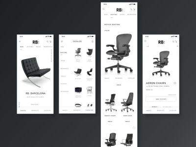 RB:- The APP sell furniture