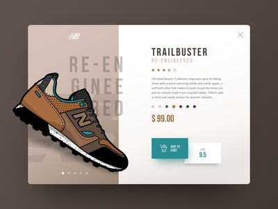 Trailbuster product detail page