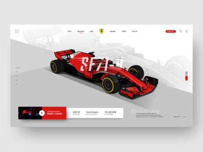 Scuderia Ferrari Web Header - Light
