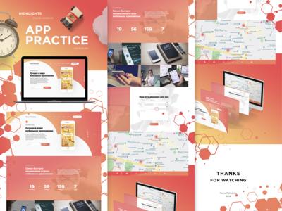 App practice (Highligts online webinar)