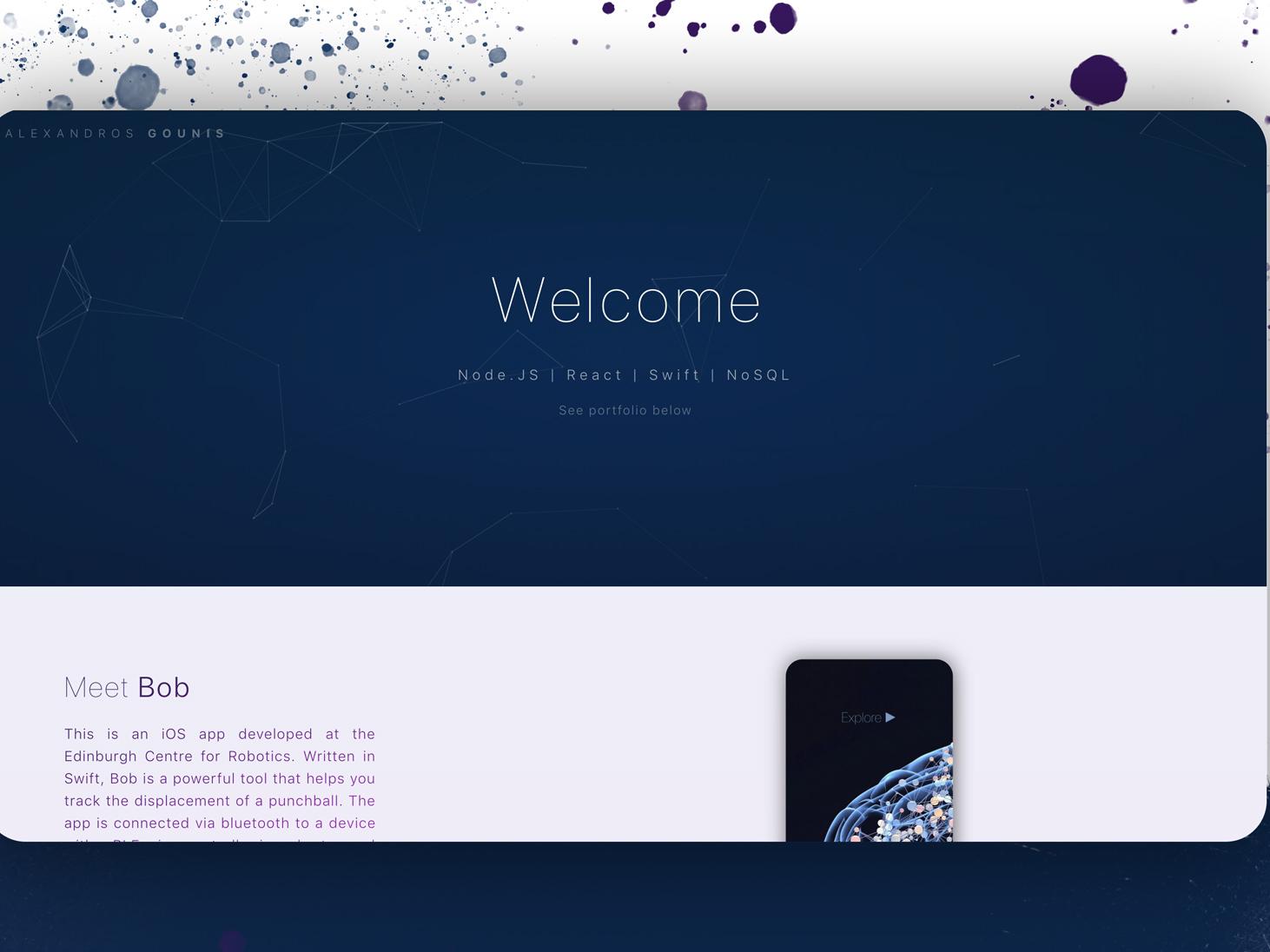 Website minimal website flat apis web app columns css animation reactjs animation icon ux typography cards ui logo illustration design nodejs javascript