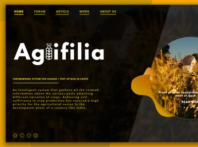 Agrifilia (UI Project)
