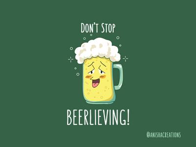 Beerlieve character fun art geek comedy humor puns design illustration drink friday beer doodles cartoons funny cute