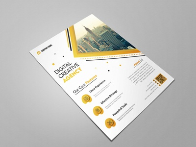 Creative Flyers real estate flyer branding design corporate design business flyer design flyer template flyer design creative flyer