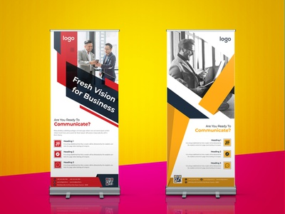 Roll Up Banner Design modern corporate creative banner roll up banner ads design banner ads roller banner standee logo design signage design rollup banner design x stand banner retractable banner pop up banner pull up banner roll up banner