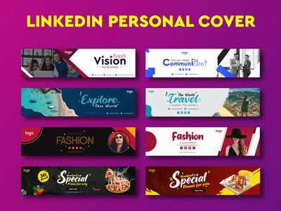 Social Media Banner and LinkedIn Personal Cover Design youtube thumbnail website fb youtube twitter instagram facebook linkedin business page business unique professional web banner banners social media cover photo header cover banner