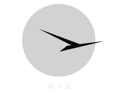 Air design branding logo mark