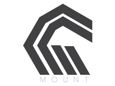 Mount Bicycle Company design branding logo mark