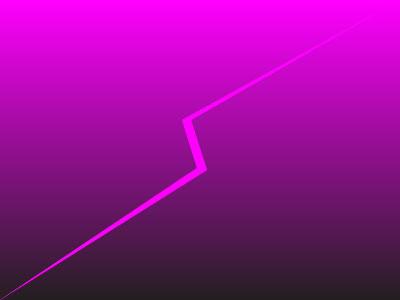 Pink Lightning mark graphics design