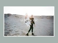 Aesthetic - Landing Page