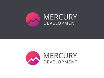 Mercury development logo by Dmitry Galas