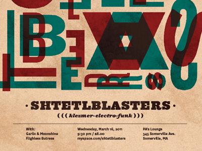 Gig Poster poster show gig music ziggurat national typography design texture