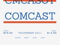Comcast November
