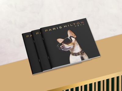 Paris Hilton Pets Brochure + Branding