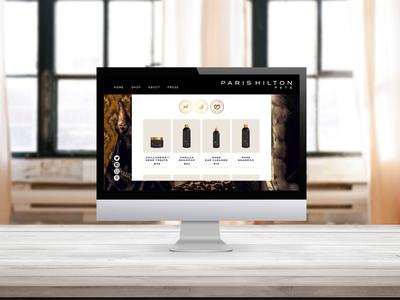 Paris Hilton Pets Branding + Website