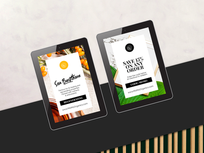 Momo Organics Branding + Social Media Graphics