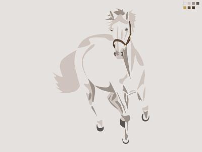Horse Vector Drawing art illustrations horse vector graphic illustration modern