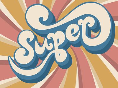 70s Retro Lettering retrofont font 70sdesign 70sscript 70s retro lettering illustration art illustrations vector graphics graphic design flat illustration