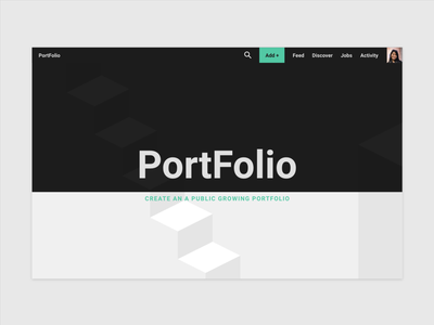 Home Page Concept home screen ux web design isometric flat modern ui web design home page