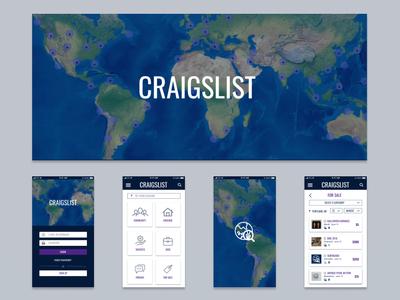 Craigslist Redesign Concept