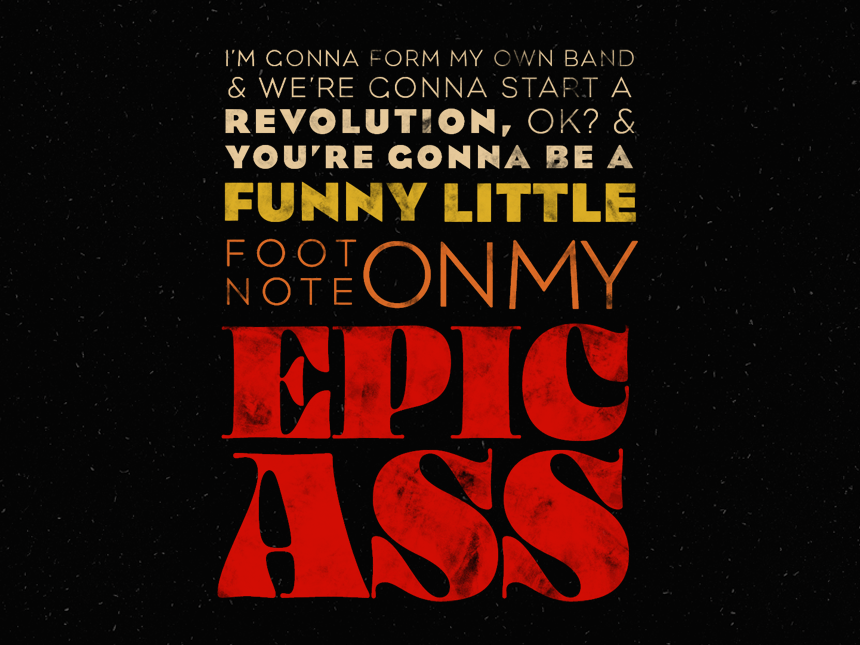 School Of Rock Quotes Continued by Claire Biordi on Dribbble