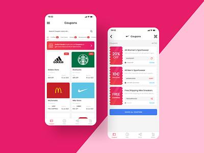Coupon Apps Design user interface starbucks coupon apps apps ui design mobile apps coupon